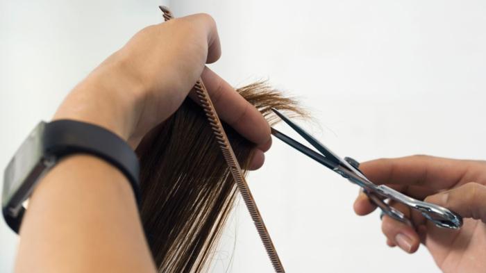 haarpflege tipps shampoo maske glatt spitzen schneiden