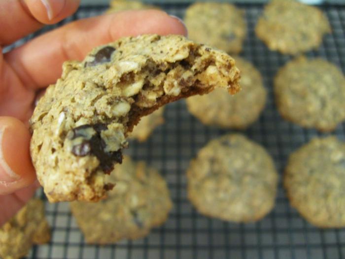 Frühstücksideen haferflocken gesund am stiel kekse