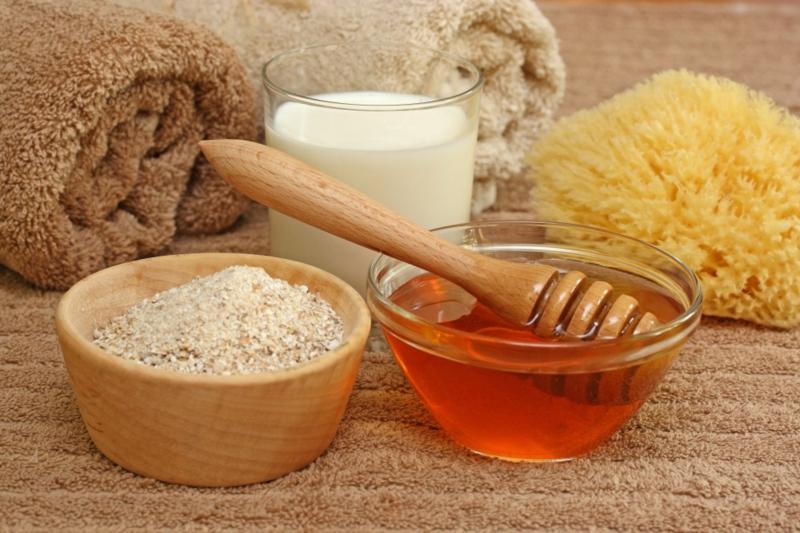 ist Honig gesund schöne Haut Pflege Honig Wirkung