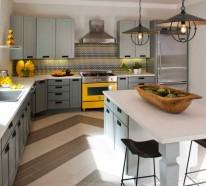 Design von Küchen – 25 Aktuelle Einrichtungsideen für Ihren Küchenbereich