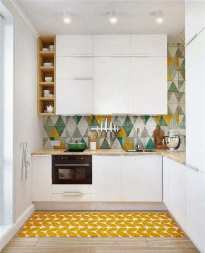 küchengestaltung idee einrichtungsbeispiele deko ideen küche farbgestaltung chick