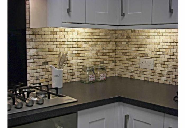 küchengestaltung idee einrichtungsbeispiele deko ideen küche farbgestaltung fliesen