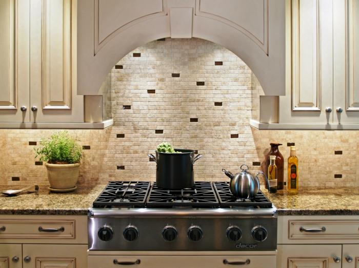 küchengestaltung aidee einrichtungsbeispiele deko ideen küche farbgestaltung genug hell