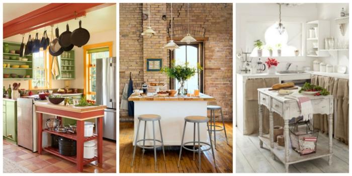 küchengestaltung idee einrichtungsbeispiele deko ideen kleine küche einrichten