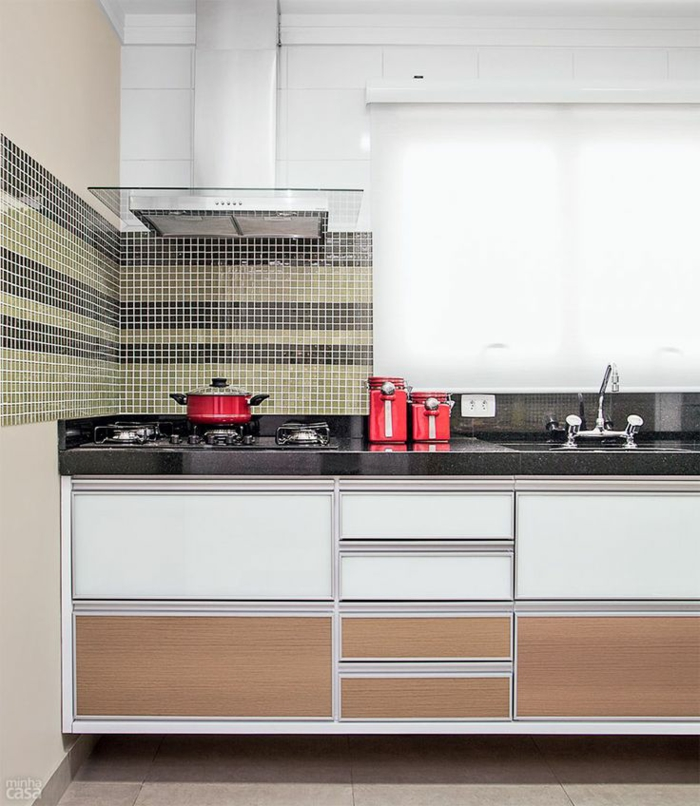 küchenspiegel küchenrückwand mosaik look wandfliesen marmor arbeitsfläche