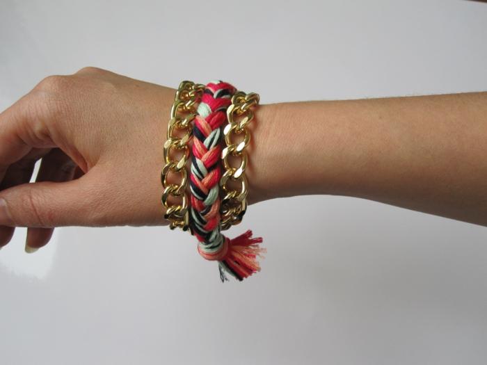 kleine geschenke selber machen armbänder basteln ideen