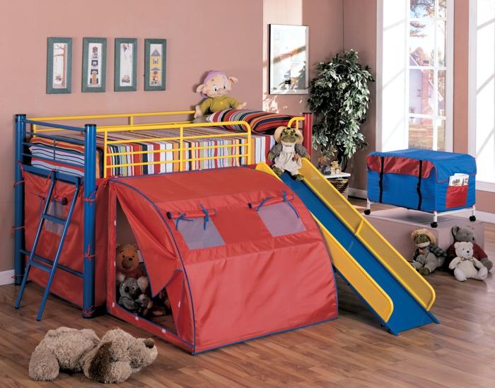 möbel kinderzimmer hochbett kinderspielbett wanddeko spielzeuge
