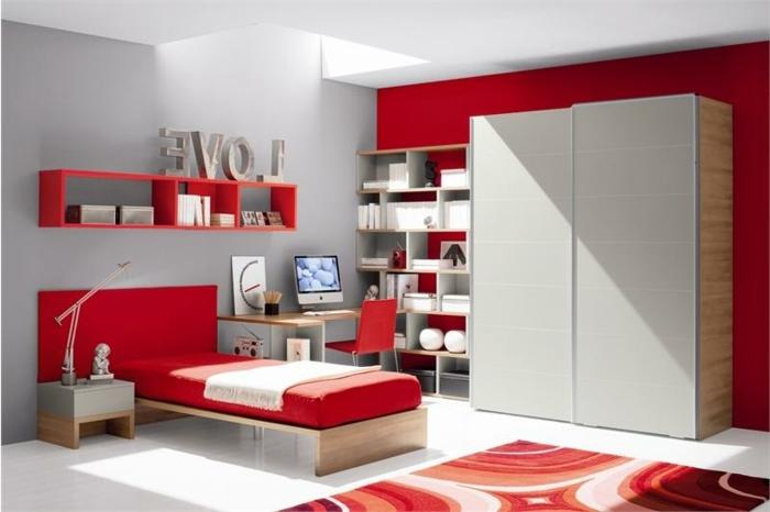 Möbel Kinderzimmer 39 Beispiele, wie Sie mit Farbe  ~ Cor Verde Quarto Significado
