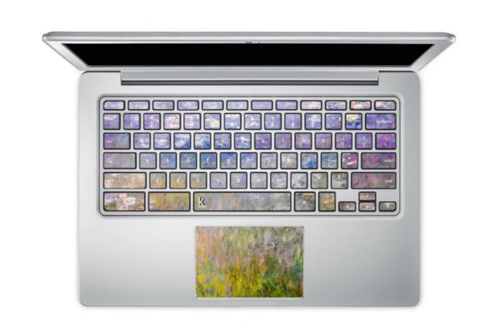 macbook sticker tastatur sticker aufkleber tastatur van gogh degas