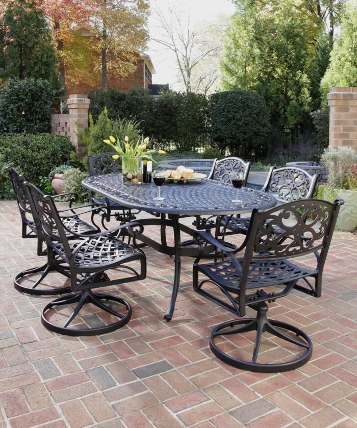 Moderne Gartengestaltung Ideen, die Sie zu Al Fresco Dining ...