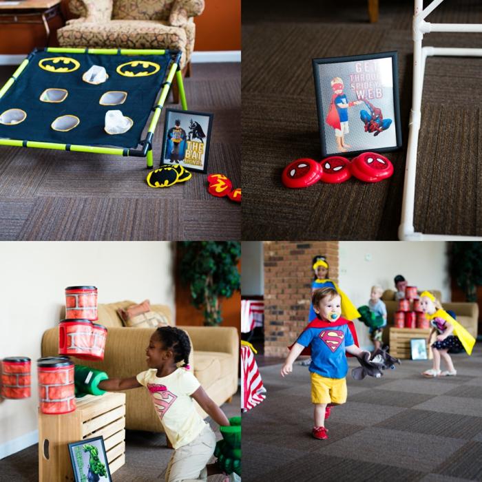 party ideen kinderparty superhelden thema geburtstagsparty