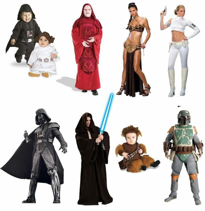 party ideen movie party star wars kostüme