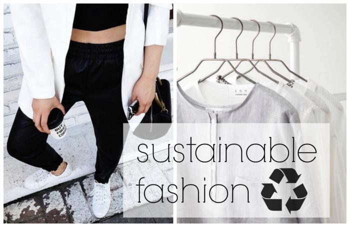 nachhaltige Kleidung Trend was ist nachhaltige Mode