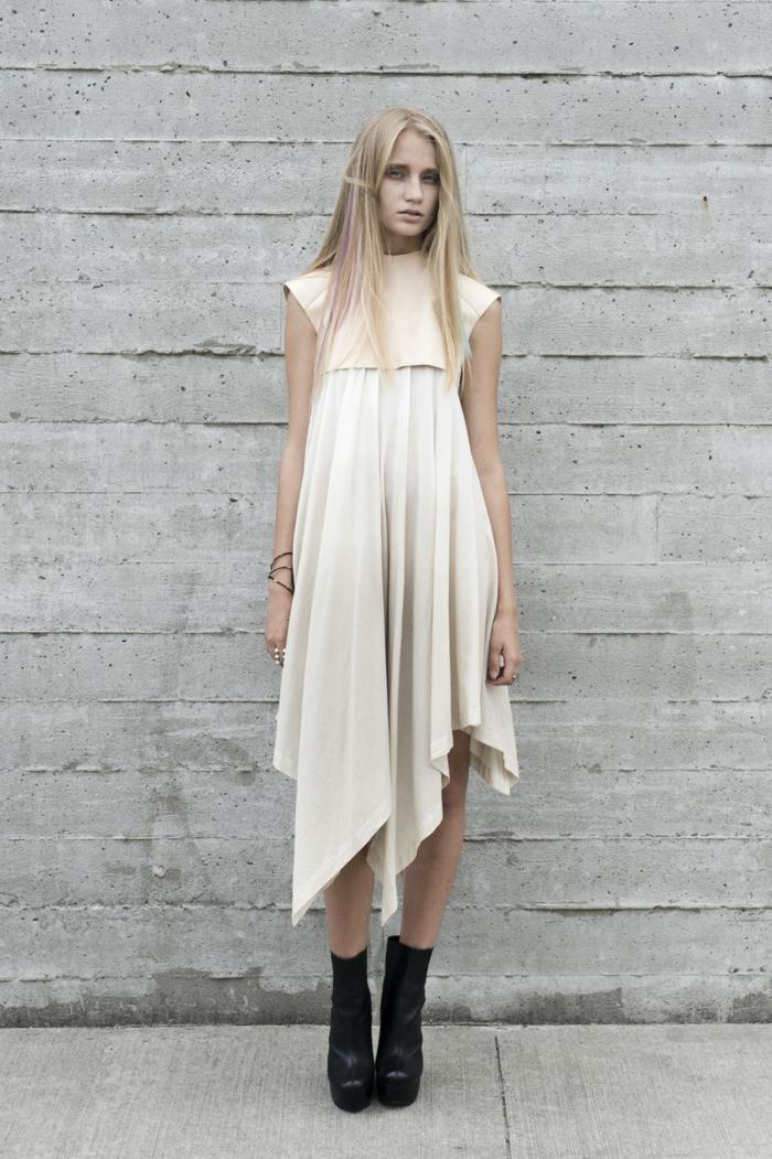 nachhaltige mode ökologisch kleidung vegane mode ökologisch Nachhaltigkeit etikett kleid