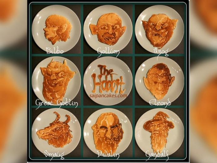 frühstücksideen nathan shields kinder illustration kollektion herr der ringe