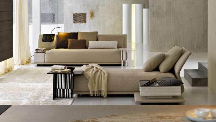 15 schlafsofa ideen - schön und bequem gemacht!, Wohnzimmer