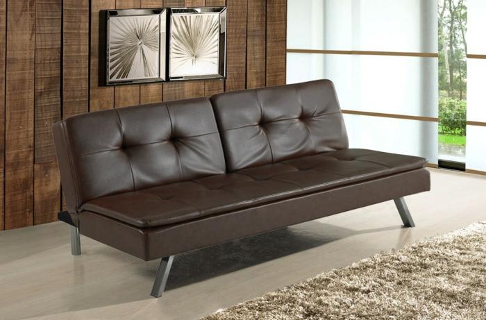 15 schlafsofa ideen sch n und bequem gemacht. Black Bedroom Furniture Sets. Home Design Ideas