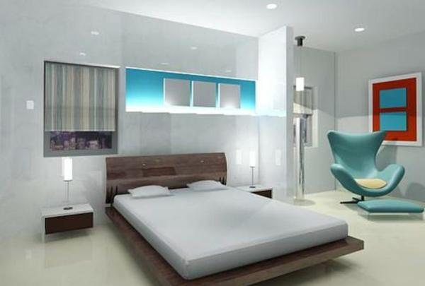 schlafzimmer einrichten minimalistisch designer möbel egg chair