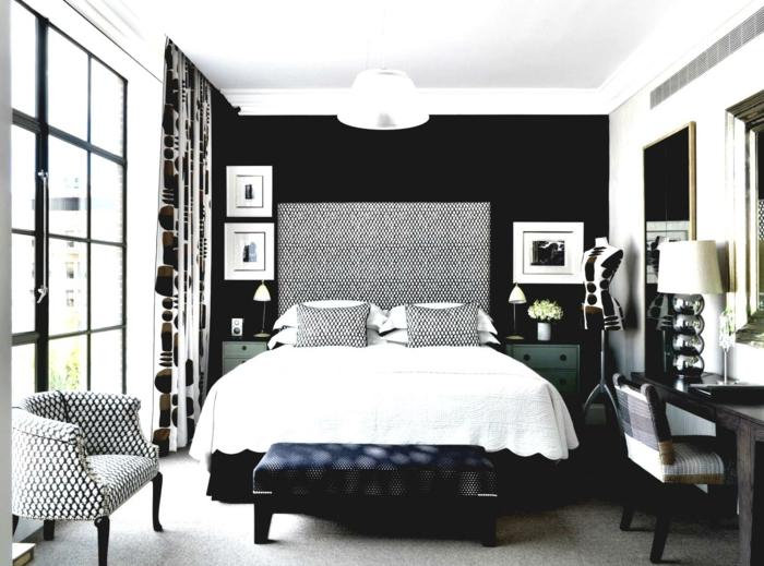 schlafzimmer schwarz grau ~ Übersicht traum schlafzimmer - Schlafzimmer Schwarz