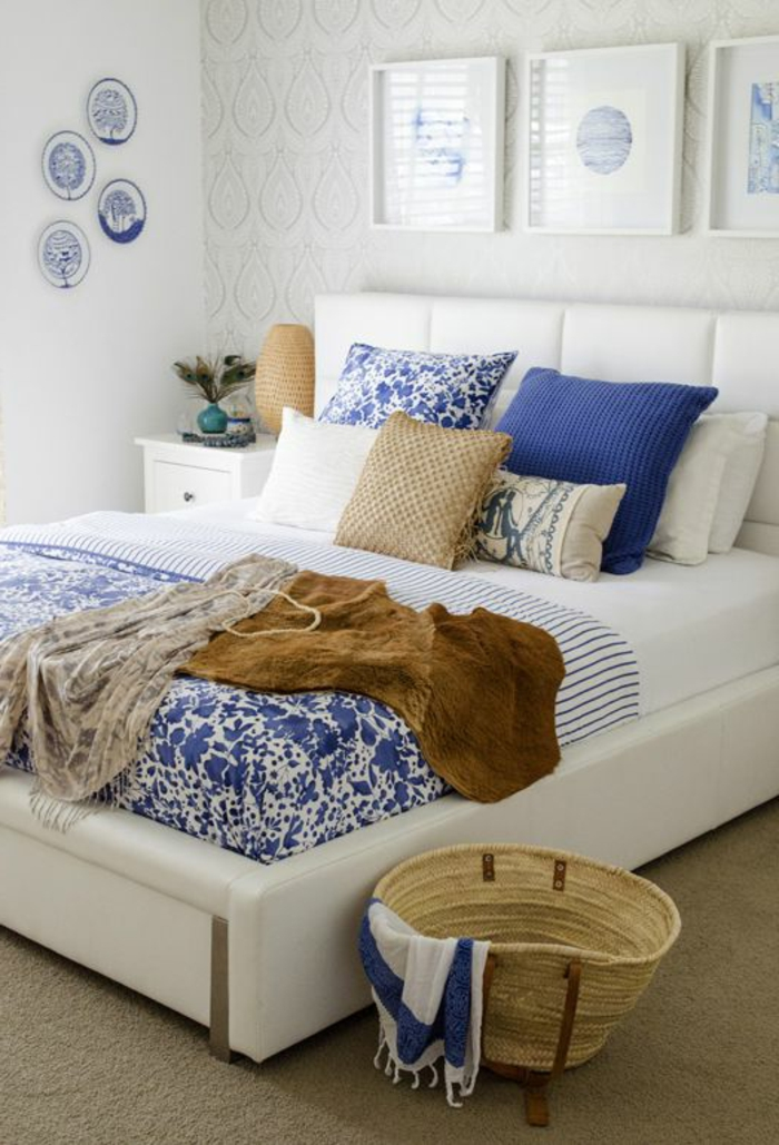 05054052307102 blaue tapeten schlafzimmer. Black Bedroom Furniture Sets. Home Design Ideas