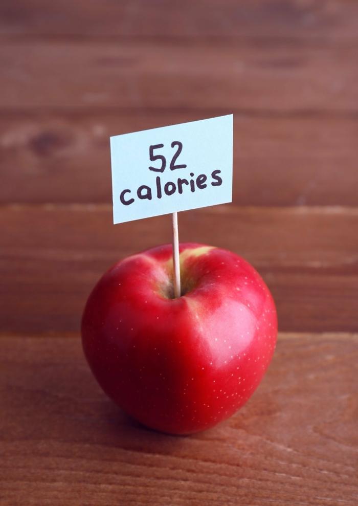 schnell und gesund abnehmen entscheidung apfel kalorienarm