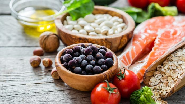 schnell und gesund abnehmen entscheidung zeichnungen früchte nüsse