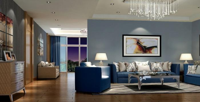 Best Wohnzimmer Einrichten Grau Blau Images - Unintendedfarms.us ...