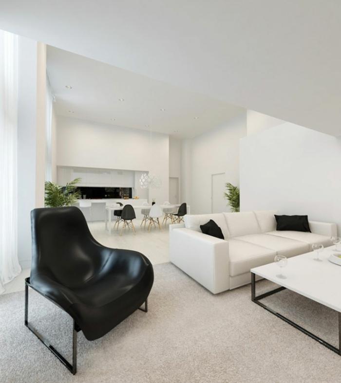 Sofa In Weiß U2013 35 Wohnzimmereinrichtungen Mit Einem Weißen Akzent |  Einrichtungsideen ...