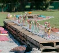 44 Sommerparty Deko Ideen  im Boho Chic für unvergessliche Feier im Freien
