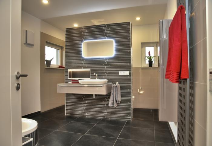 stecktosen einbauen lichtschalter badezimmer arbeitsfläche