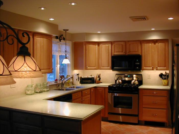 stecktosen einbauen lichtschalter küche arbeitsfläche zonen