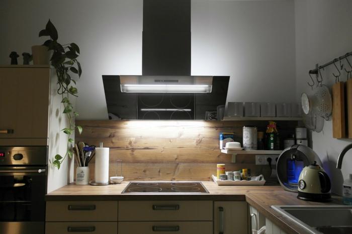 stecktosen einbauen lichtschalter küche arbeitsfläche