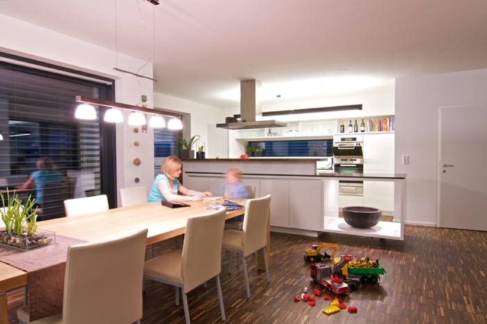 stecktosen einbauen lichtschalter küche licht zonen