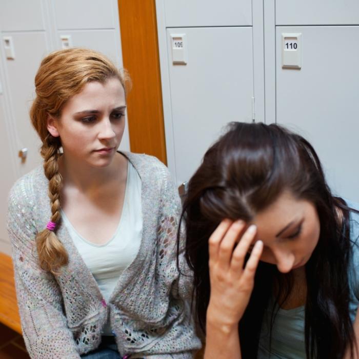 stress abbauen freundinnen probleme besprechen