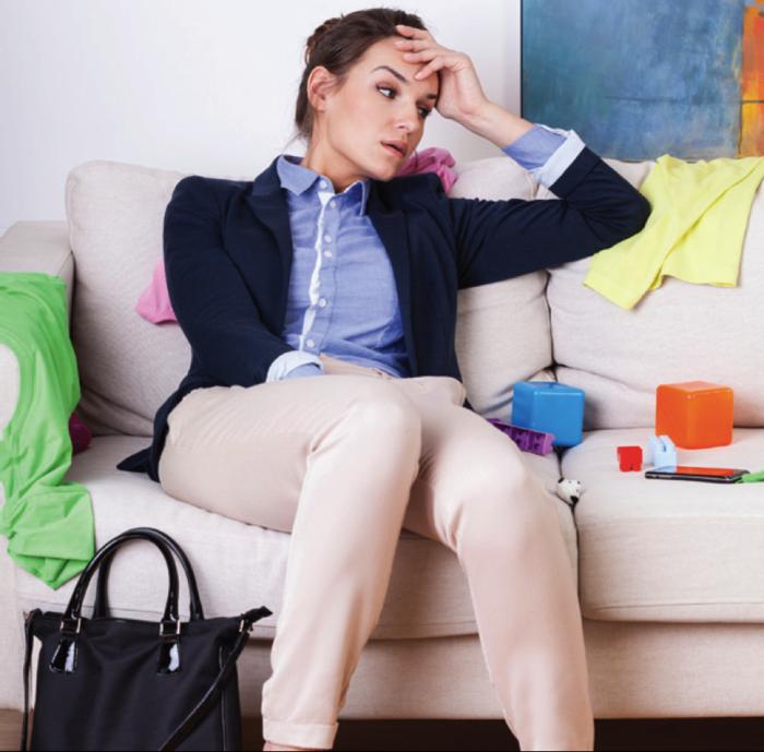 stress abbauen tipps müde sein angestrengt
