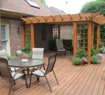 Überdachung Terrasse - 15 Beispiele, wie sie Ihre Terrasse überdachen