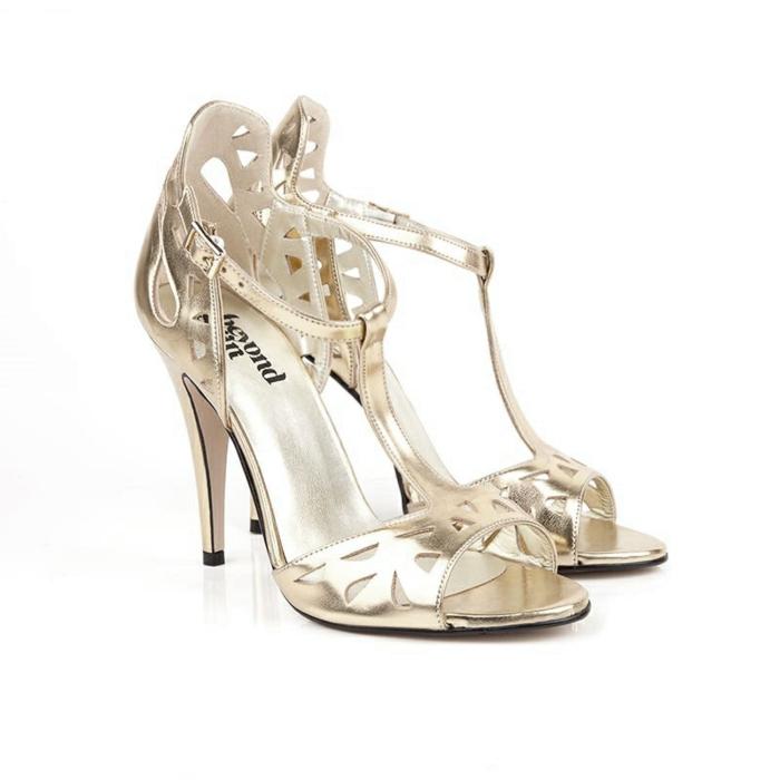 vegane schuhe kunstleder high heels silber glanz gold high sandal lily beyond skin