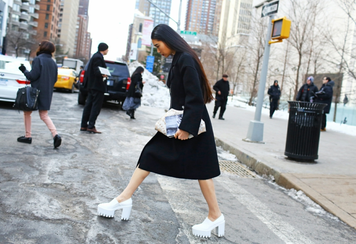 vegane schuhe kunstleder york new york street style stella mccartney