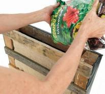 Vertikaler Garten Anleitung – noch ein DIY Projekt aus Paletten