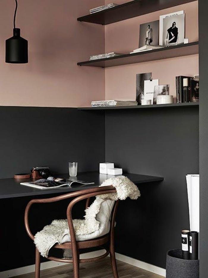 wandfarbe rosa welche sind die neusten trends f r 2016. Black Bedroom Furniture Sets. Home Design Ideas