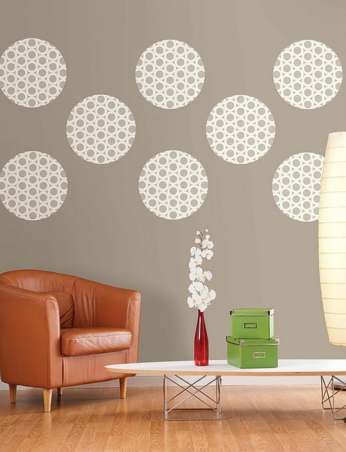 13 kreative wandgestaltung ideen zum nachmachen. Black Bedroom Furniture Sets. Home Design Ideas