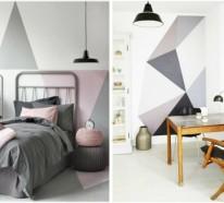 13 kreative Wandgestaltung Ideen, die ganz leicht umzusetzen sind