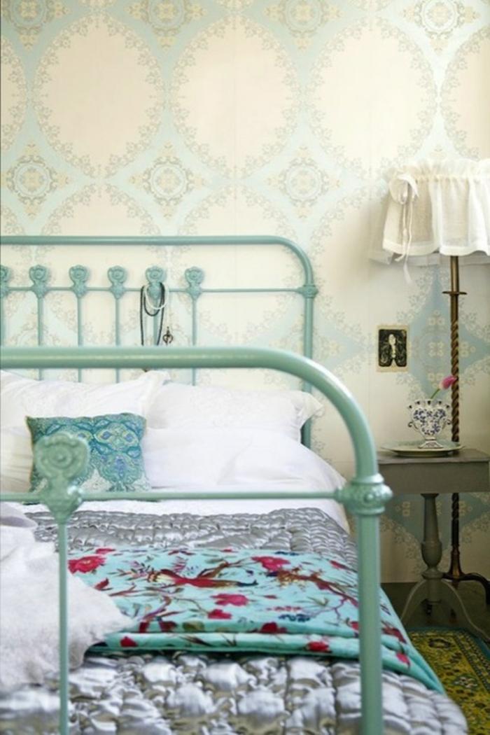 wandgestaltung ideen schlafzimme gestalten edle tapete