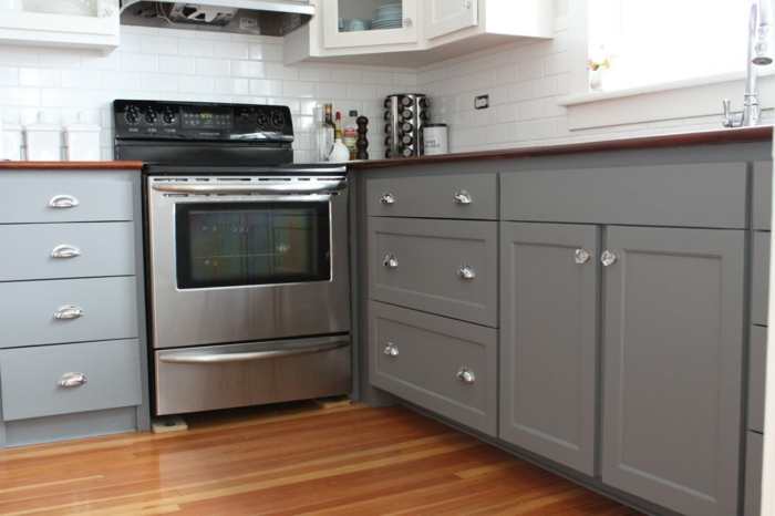 wohnideen küche griffe küchenschränke ausgefallen