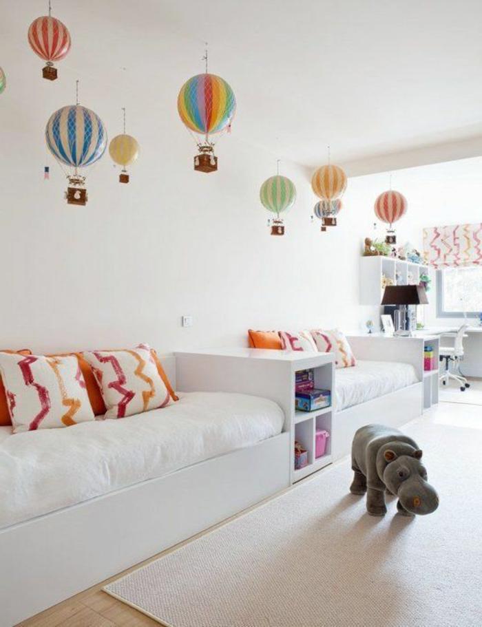 wohnideen kinderzimmer dekoideen weißer teppich