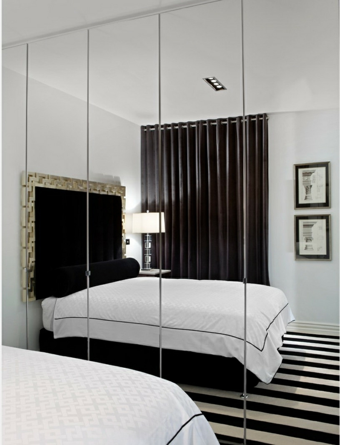 Schlafzimmer Schwarz Weiß U2013 44 Einrichtungsideen Mit Klassischem Look ...