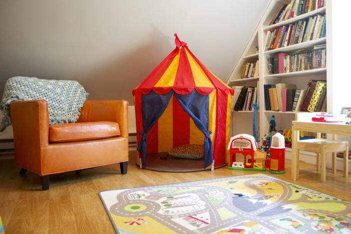 Wohnideen Wohnzimmer Einrichtungsideen Stauraum Kinderspielplatz