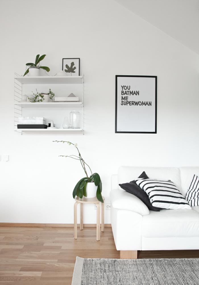 sofa wei 35 wohnzimmereinrichtungen mit einem wei en akzent