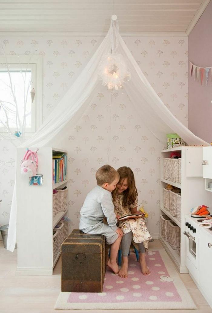 Wohnzimmer Einrichten Kinderfreundlich Wohnideen Spielecke Leseecke