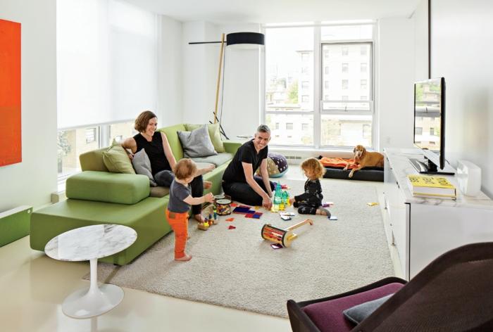 Wohnzimmer Einrichten Wohnideen Spielzeug Kindergerechte Einrichtungsideen